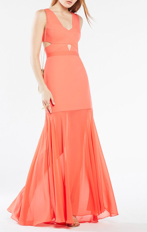 Joy Cutout Gown
