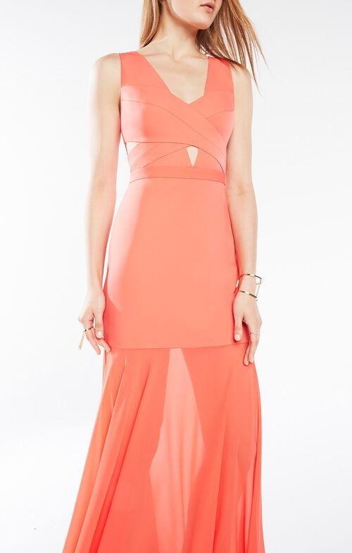Joy Cutout Gown