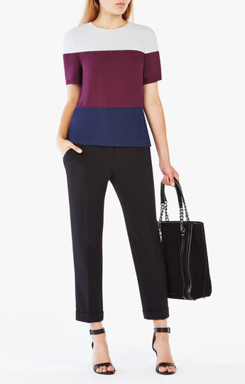 Caleste Color-Blocked Top