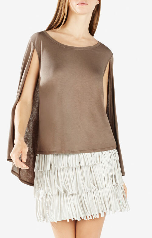 Vinessa Poncho Cape Top