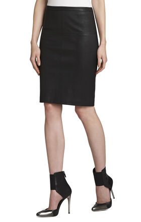 Leah Leather Pencil Skirt