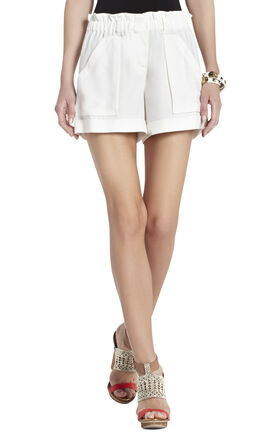 Addison High-Waisted Cargo Shorts