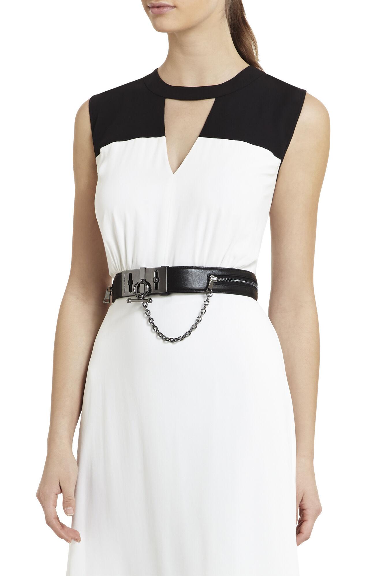Zipper Toggle Waist Belt