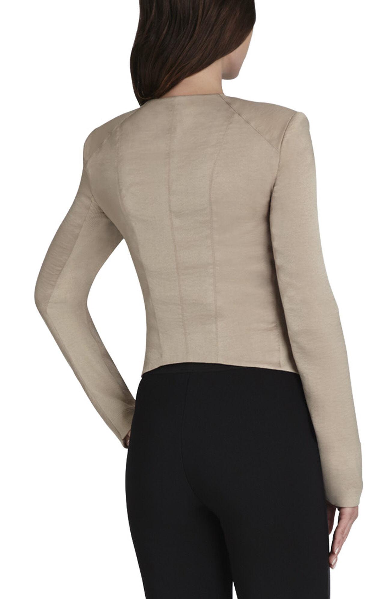 Flora Ruffle-Front Jacket