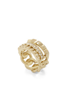 Triple-Layer Chain Ring