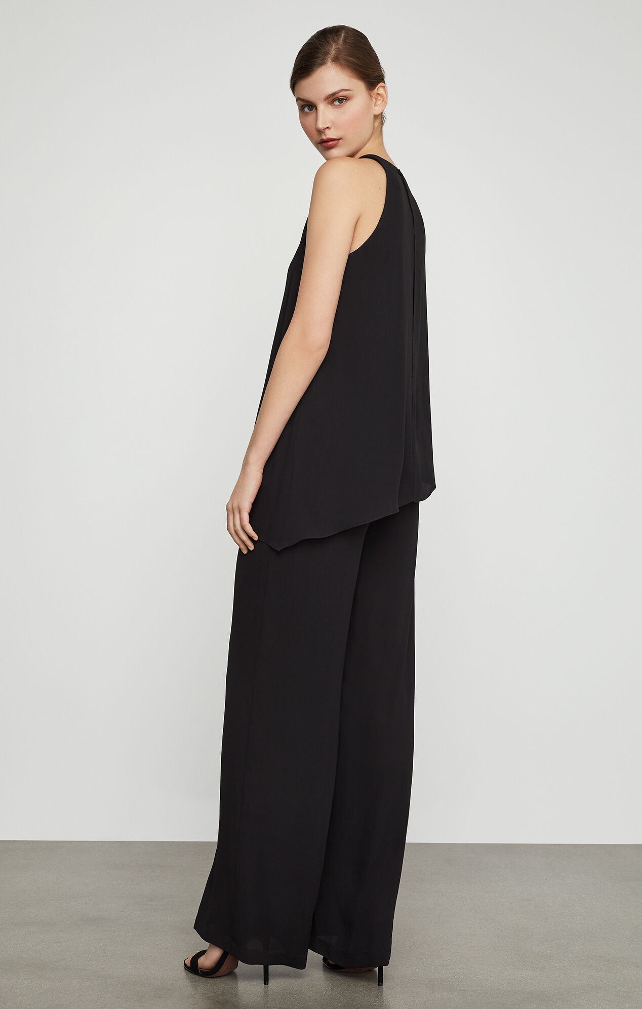 Hadli Sleeveless Draped Jumpsuit