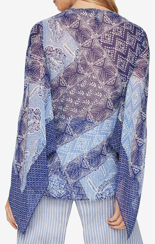 Nickelette Batik-Printed Top