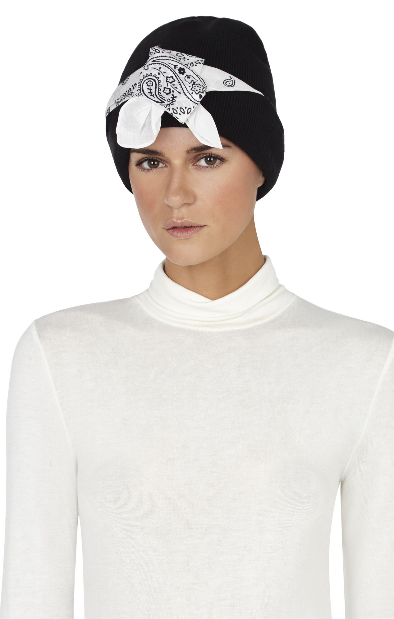 Cuffed Bandana Hat