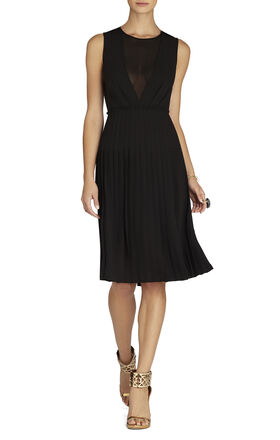 Freja Sleeveless Pleated Dress