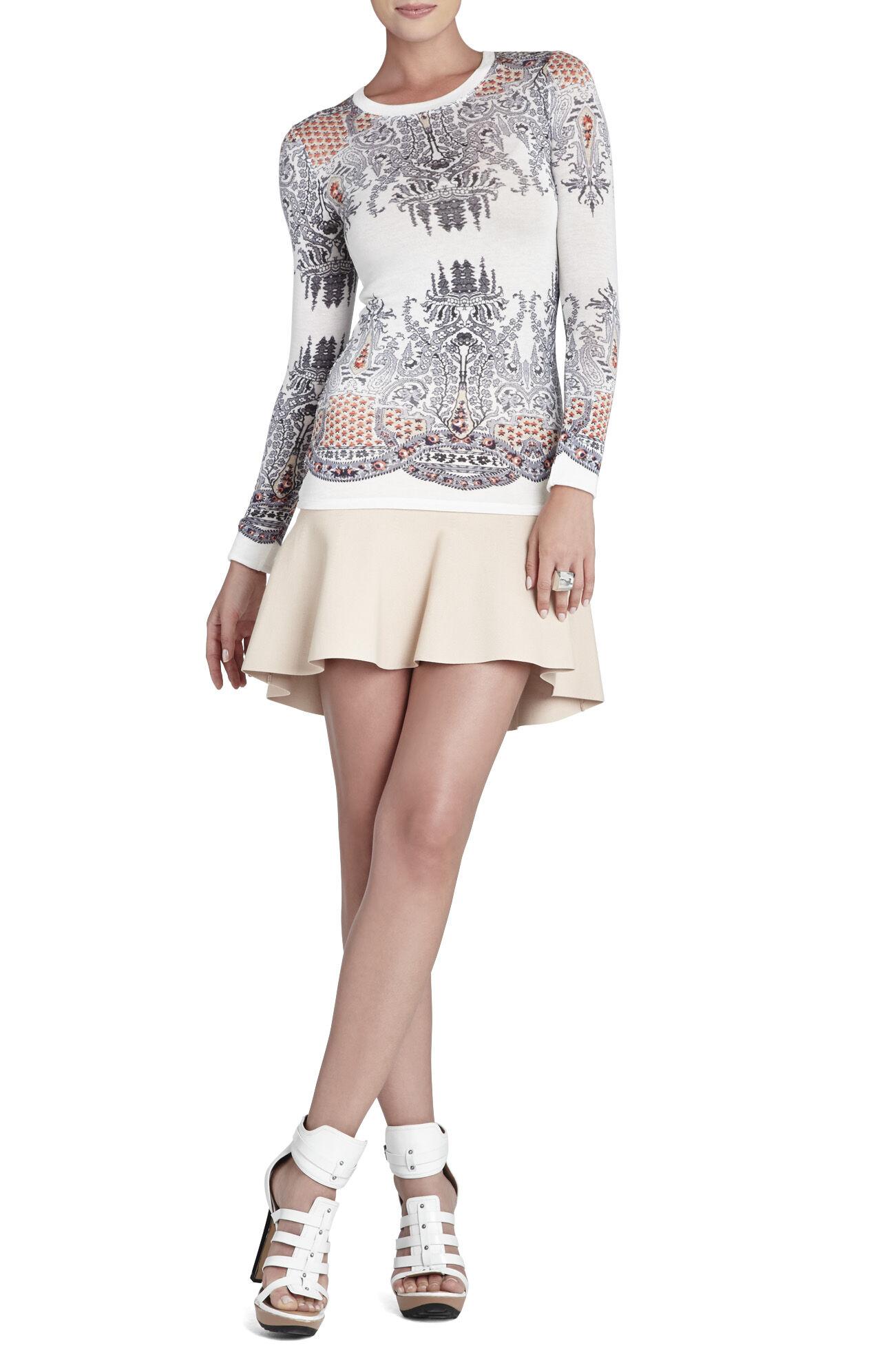 Evelyn Peplum Skirt