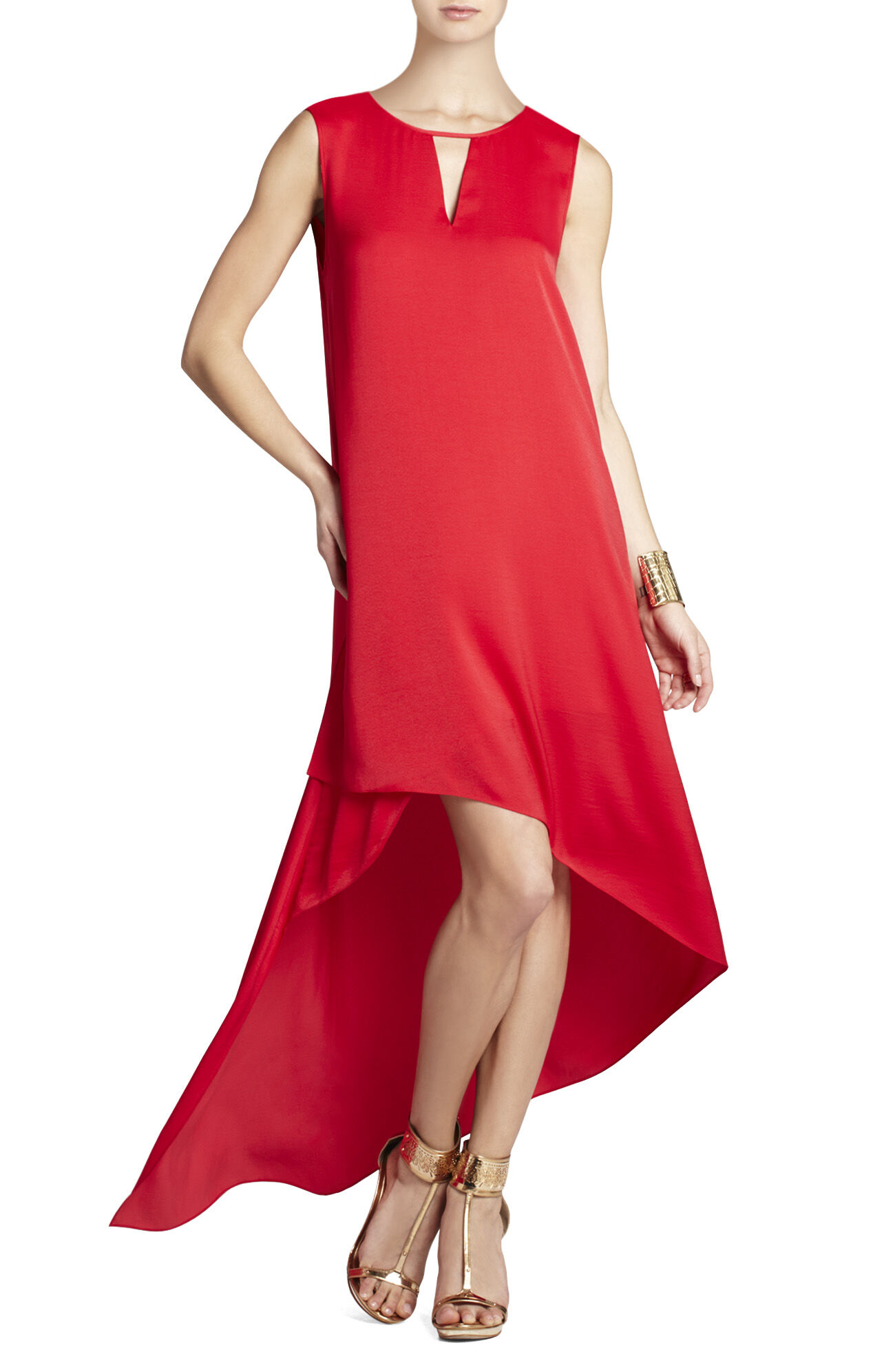 Willow Asymmetrical-Hem Dress