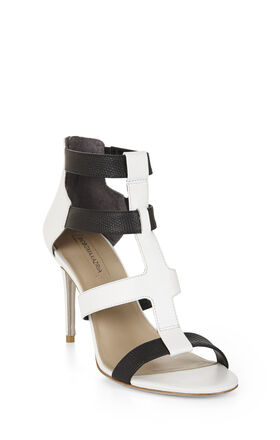 Palmer Color-Blocked High-Heel Sandal