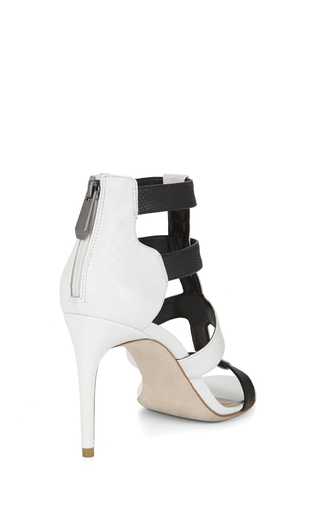 Palmer Color-Blocked High-Heel Sandal