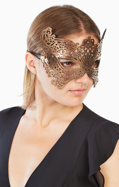 Metallic Filigree Mask