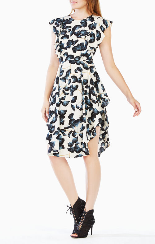 Christiania Floral-Print Dress