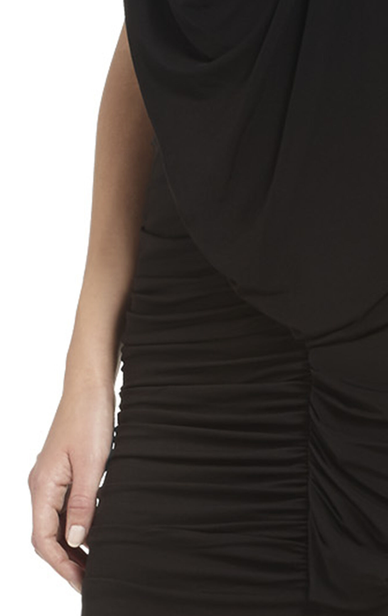 Mirina Draped Cocktail Dress