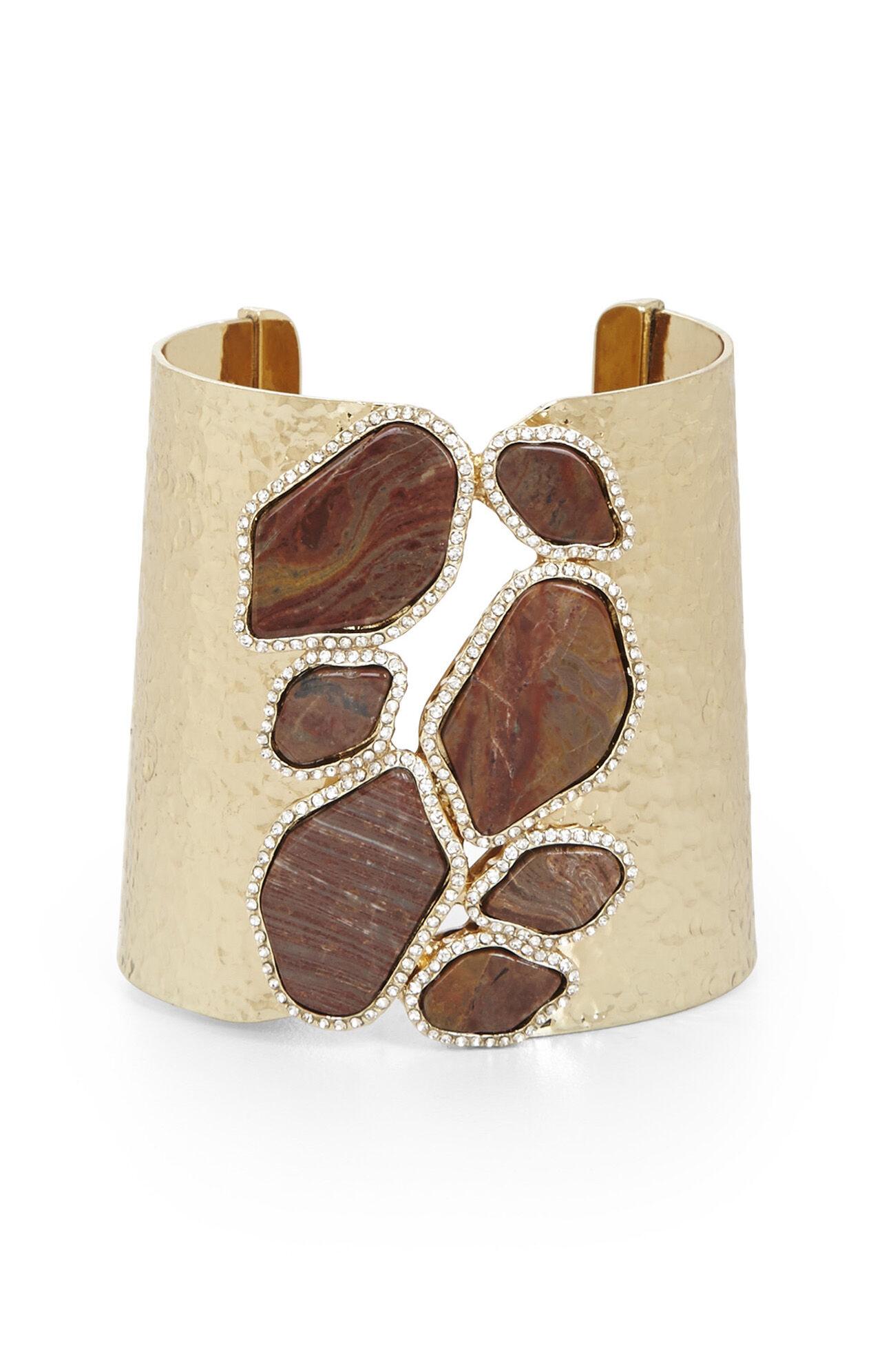 Natural Stone Cuff