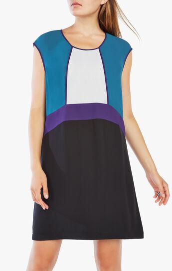 Haleigh Color-Blocked Dress