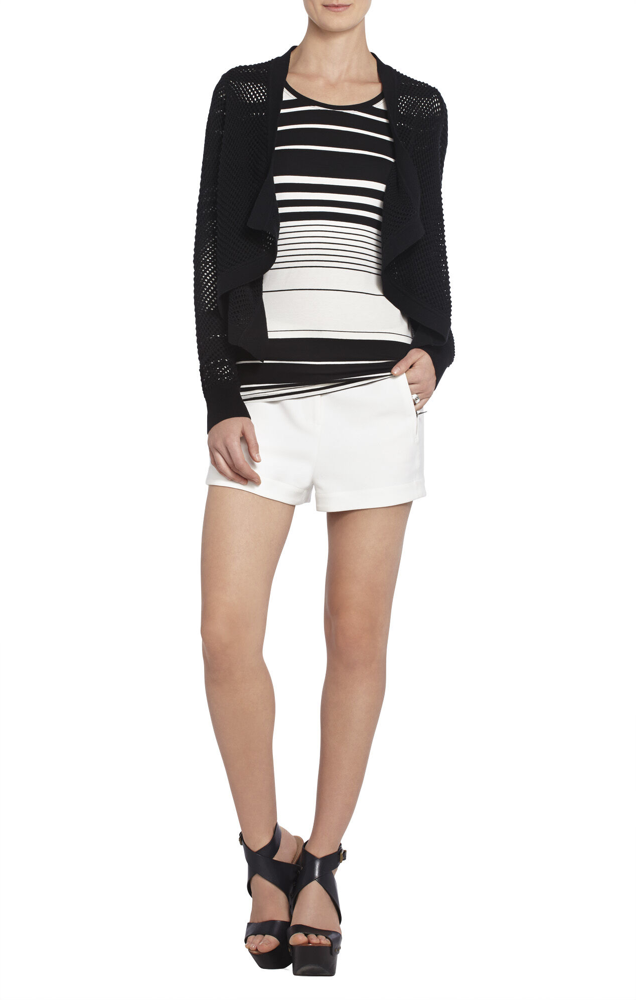 Acasia Pointelle Knit Sweater
