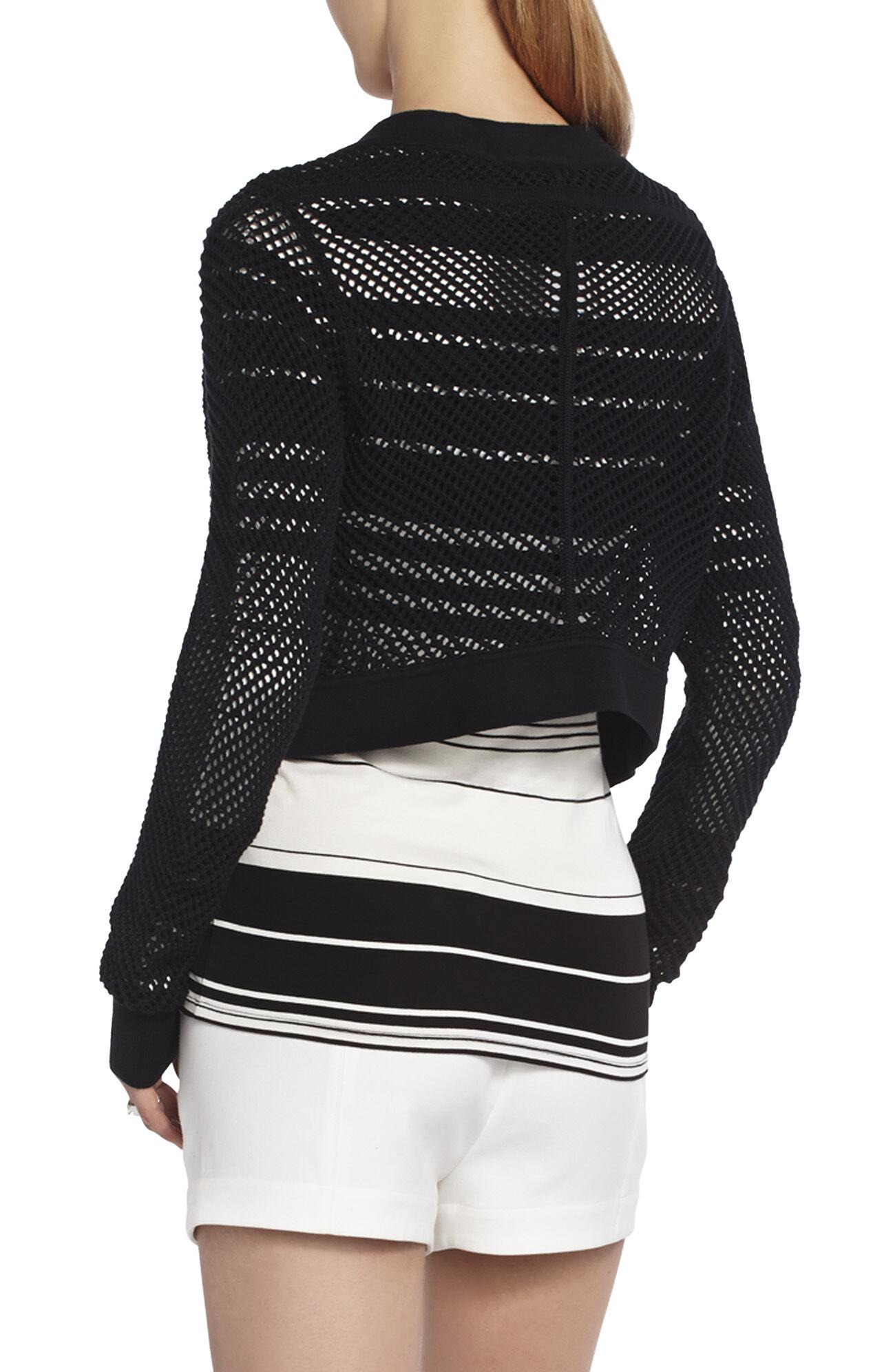 Acasia Pointelle Knit Sweater