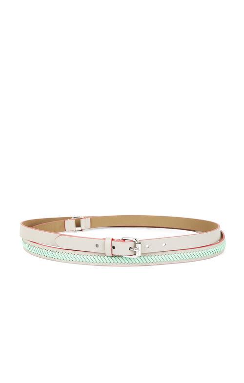 Double-Wrap Whipstitch Belt