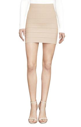 Simone Textured Power Skirt