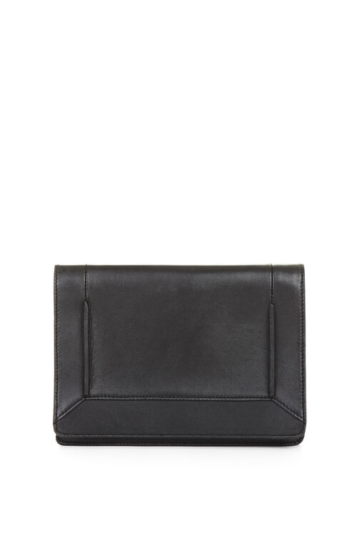 Ramona Chain Gusset Leather Cross-Body