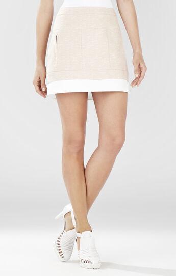 Kallie Contrast Hem Miniskirt