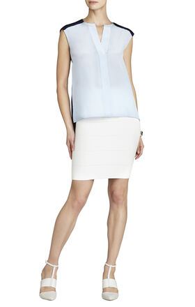 Calida Color-Blocked Sleeveless Top