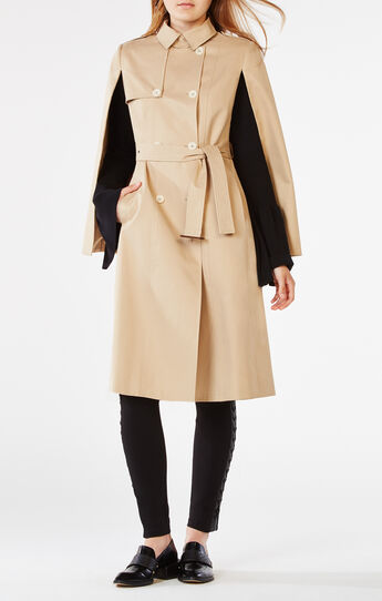Lambert Cape Trench Coat
