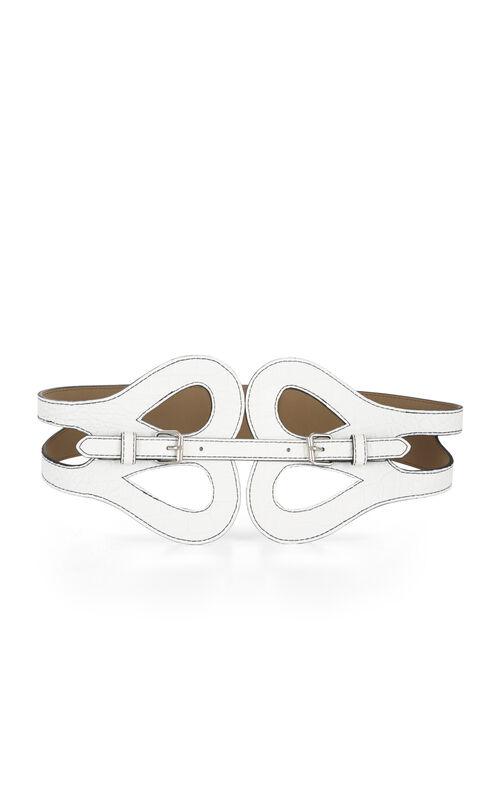Butterfly-Front Buckle Belt