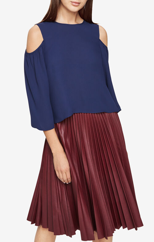 Skipper Cold-Shoulder Top