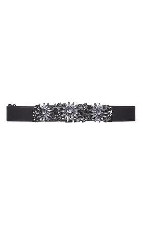Floral-Stone Waist Belt
