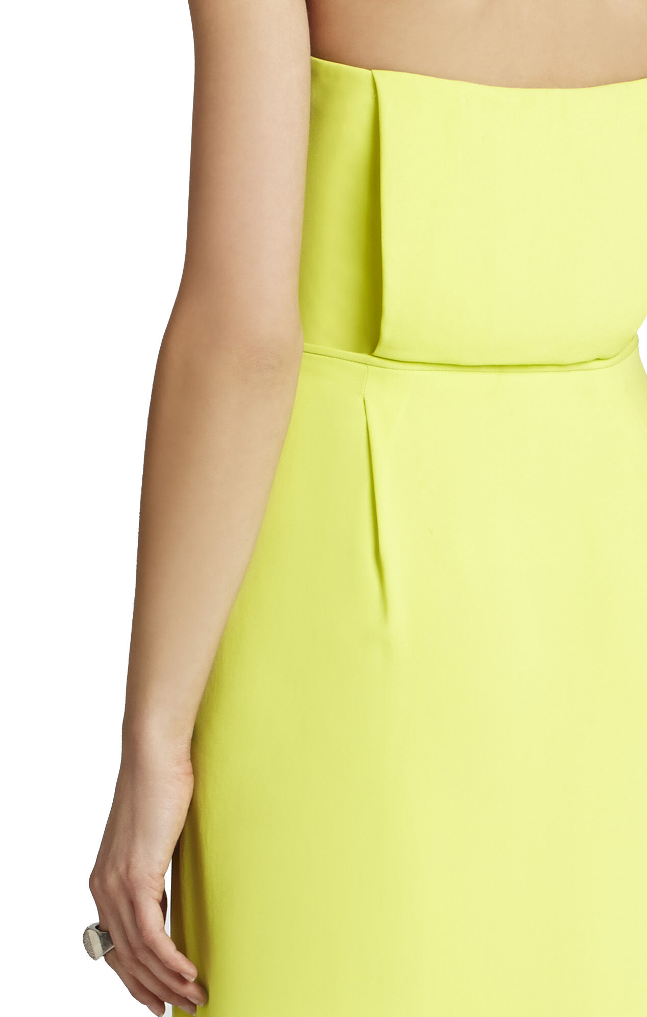 Harriet Strapless Draped Wrap Dress