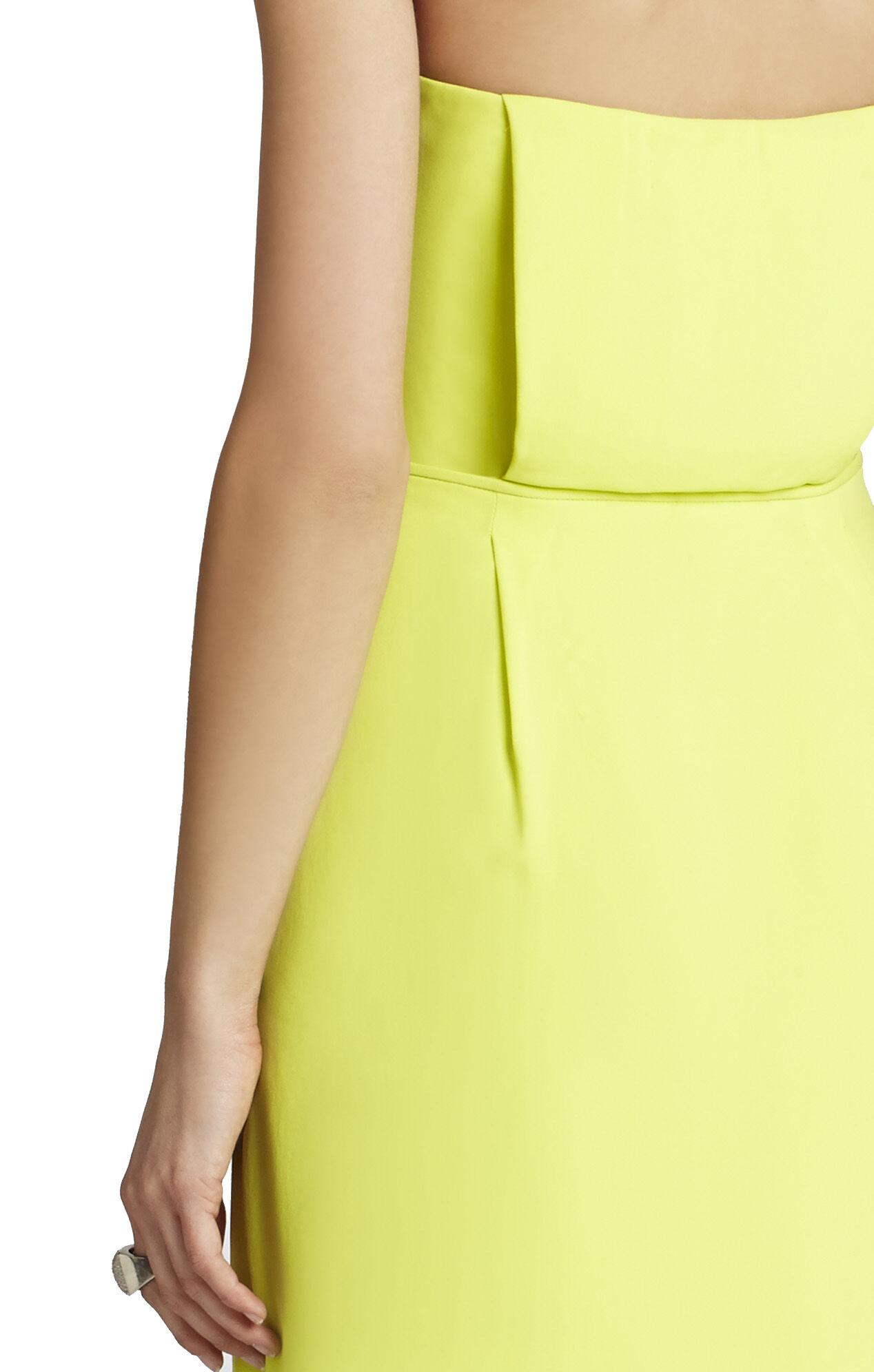 Harriet Strapless Draped Wrap Dress
