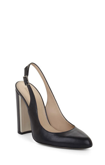 Febe High-Heel Leather Sling-Back