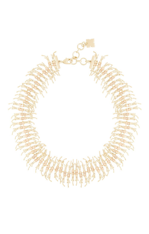 Fringe Stone Necklace