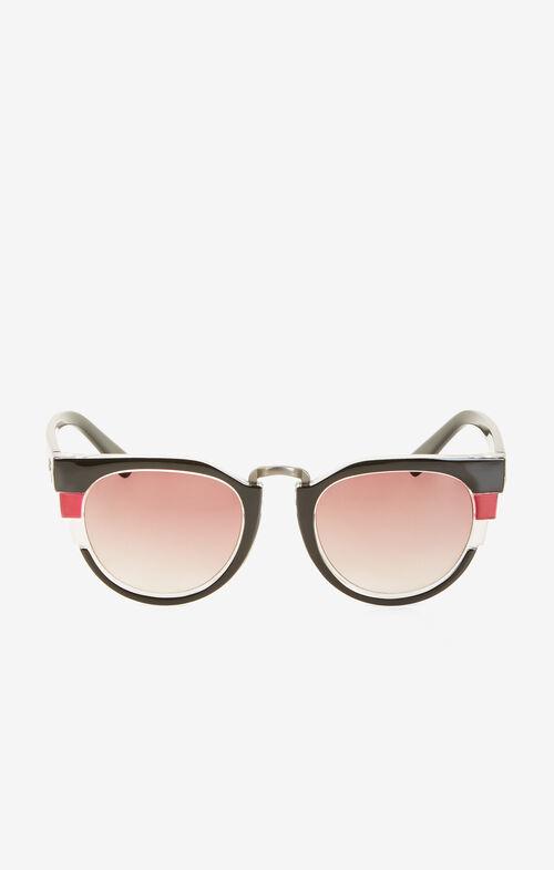 Geometric Stripe Sunglasses