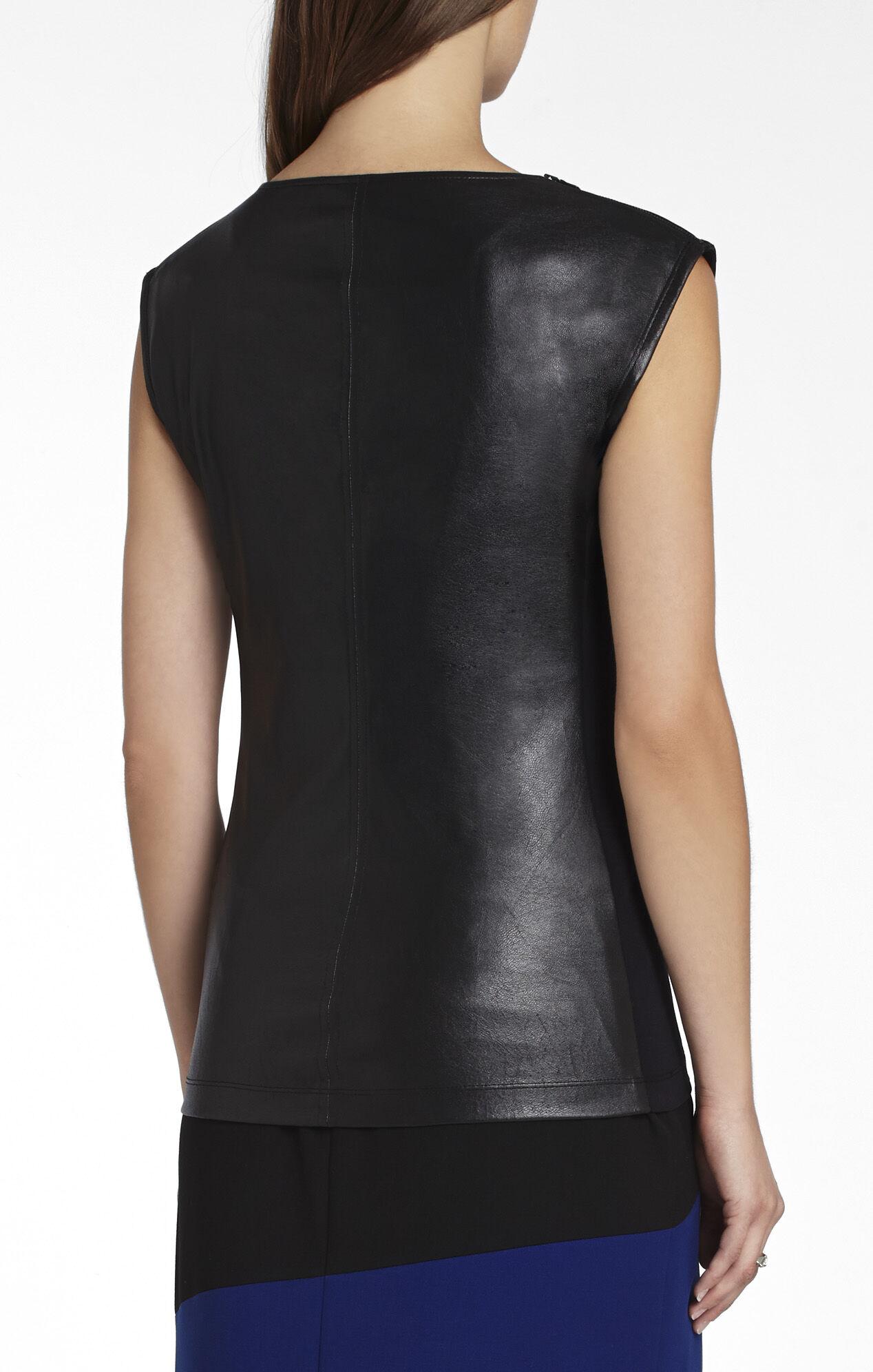 Vera Zippered-Shoulders Top