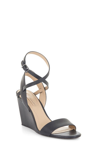 Lennox Leather Wedge Sandal