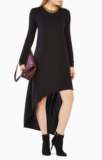 Miney High-Low Jersey Dress