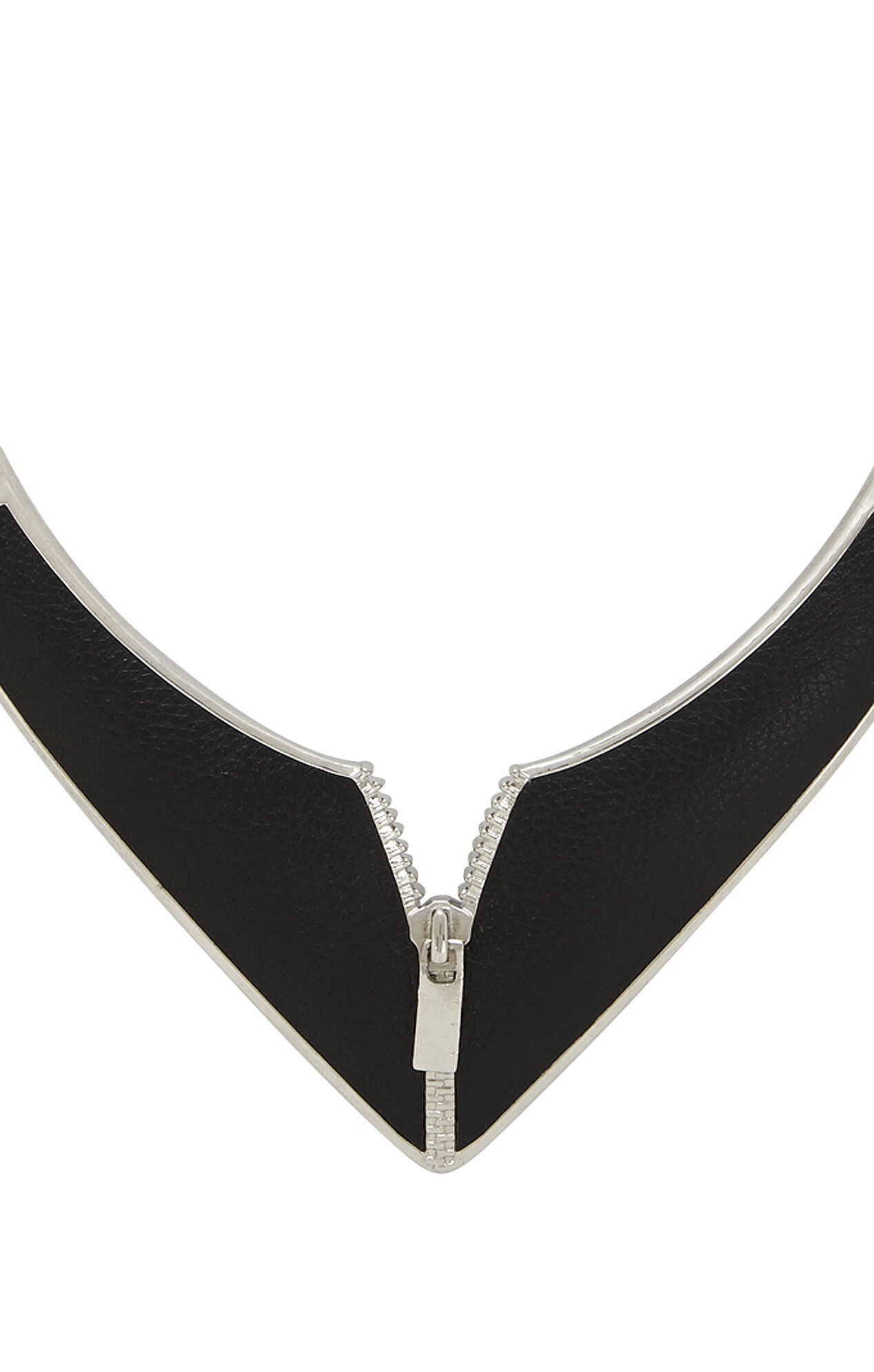 Inlay Zipper Necklace