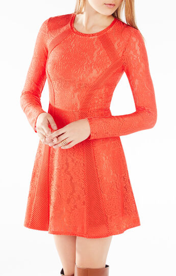 Baylie Paisley Lace Dress