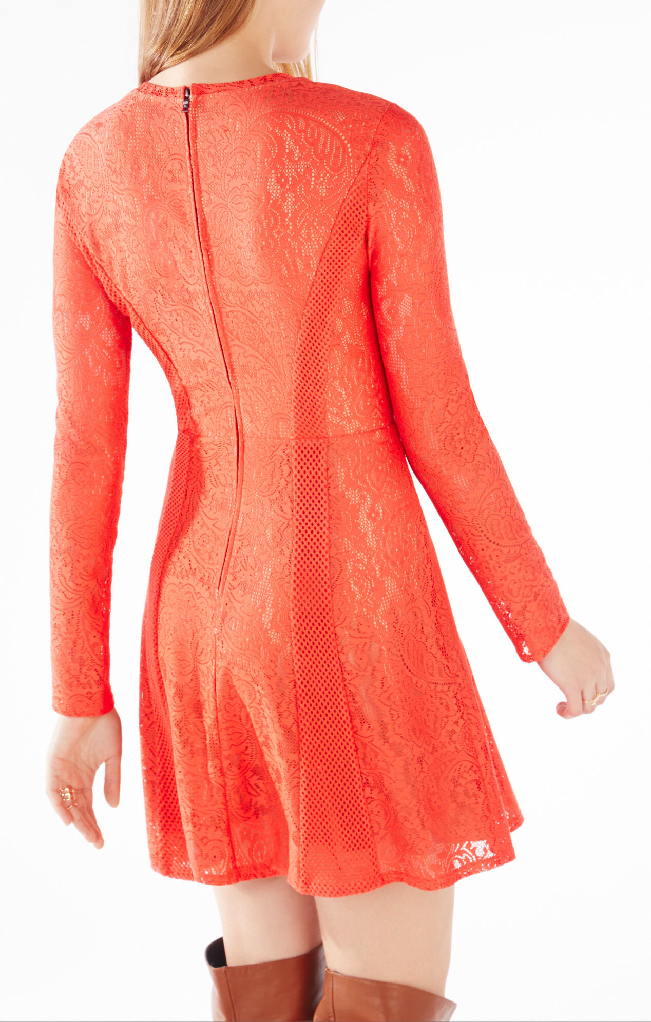 Baylie Paisley Lace Dress
