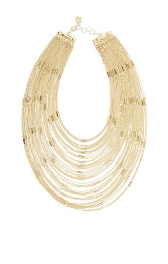Multi Layered Bar Chain Necklace