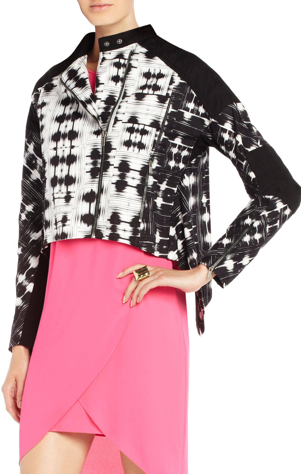 Blu Ikat-Print Jacket