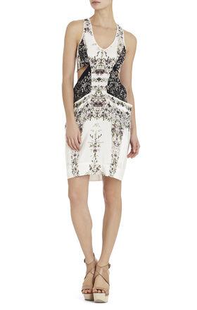Runway Julia Cutaway Silk Dress