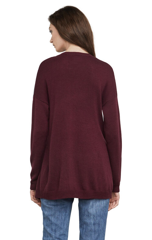 Lora Color-Blocked High-Low Tunic