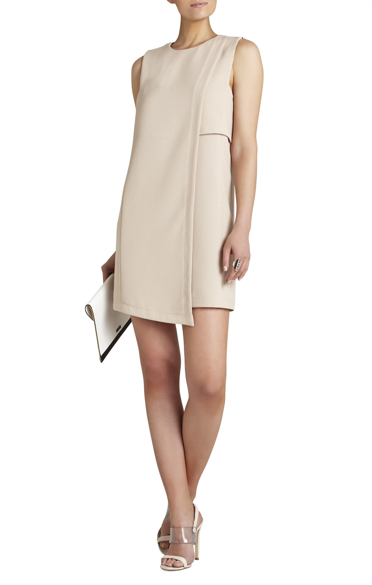 Tayler Sleeveless Asymmetrical-Hem Dress