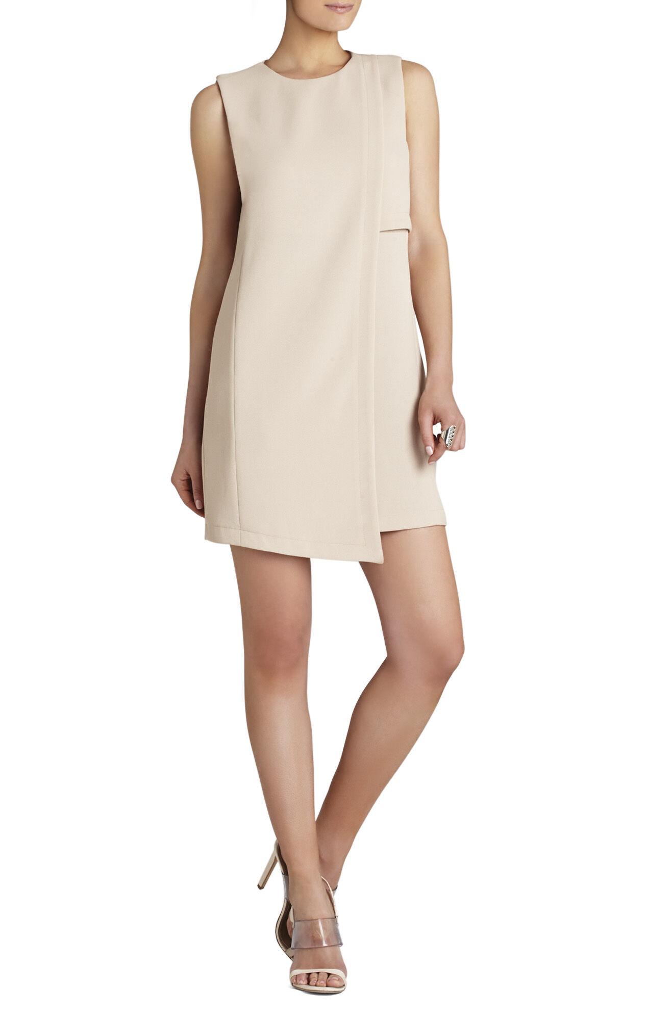 Tayler Sleeveless Asymmetrical-Hem Dress